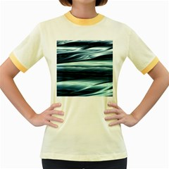 Texture Fractal Frax Hd Mathematics Women s Fitted Ringer T Shirts