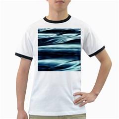 Texture Fractal Frax Hd Mathematics Ringer T-Shirts