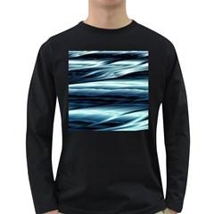 Texture Fractal Frax Hd Mathematics Long Sleeve Dark T Shirts