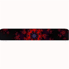 Fractal Abstract Blossom Bloom Red Small Bar Mats