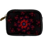 Fractal Abstract Blossom Bloom Red Digital Camera Cases Front