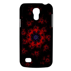 Fractal Abstract Blossom Bloom Red Galaxy S4 Mini