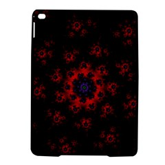 Fractal Abstract Blossom Bloom Red Ipad Air 2 Hardshell Cases
