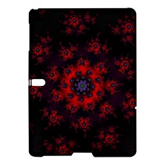 Fractal Abstract Blossom Bloom Red Samsung Galaxy Tab S (10 5 ) Hardshell Case