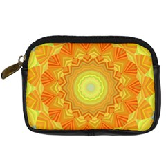 Sunshine Sunny Sun Abstract Yellow Digital Camera Cases