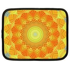 Sunshine Sunny Sun Abstract Yellow Netbook Case (XXL)