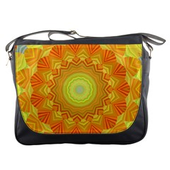 Sunshine Sunny Sun Abstract Yellow Messenger Bags