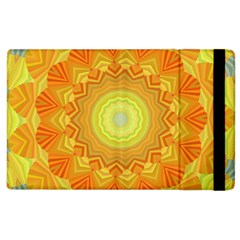 Sunshine Sunny Sun Abstract Yellow Apple iPad 2 Flip Case