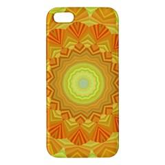 Sunshine Sunny Sun Abstract Yellow Apple iPhone 5 Premium Hardshell Case