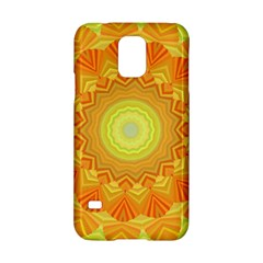Sunshine Sunny Sun Abstract Yellow Samsung Galaxy S5 Hardshell Case