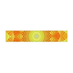 Sunshine Sunny Sun Abstract Yellow Flano Scarf (Mini)