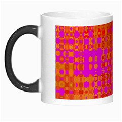 Pink Orange Bright Abstract Morph Mugs