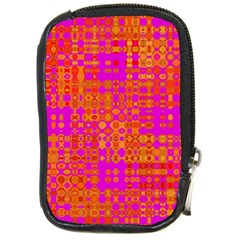 Pink Orange Bright Abstract Compact Camera Cases