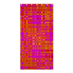 Pink Orange Bright Abstract Shower Curtain 36  X 72  (stall)