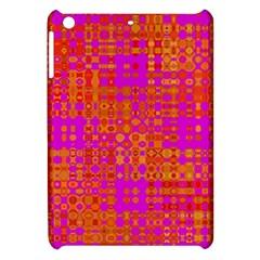 Pink Orange Bright Abstract Apple iPad Mini Hardshell Case