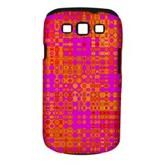 Pink Orange Bright Abstract Samsung Galaxy S Iii Classic Hardshell Case (pc+silicone)