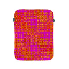 Pink Orange Bright Abstract Apple iPad 2/3/4 Protective Soft Cases