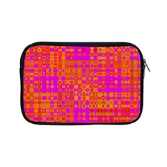 Pink Orange Bright Abstract Apple iPad Mini Zipper Cases