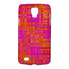 Pink Orange Bright Abstract Galaxy S4 Active