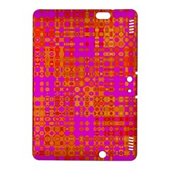 Pink Orange Bright Abstract Kindle Fire HDX 8.9  Hardshell Case