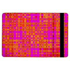 Pink Orange Bright Abstract Ipad Air Flip