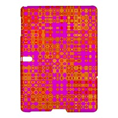 Pink Orange Bright Abstract Samsung Galaxy Tab S (10 5 ) Hardshell Case