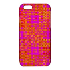 Pink Orange Bright Abstract iPhone 6/6S TPU Case