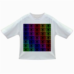 Rainbow Grid Form Abstract Infant/toddler T Shirts