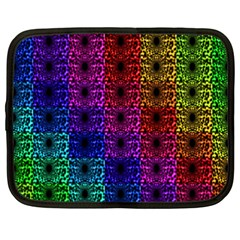 Rainbow Grid Form Abstract Netbook Case (XXL)
