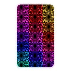 Rainbow Grid Form Abstract Memory Card Reader