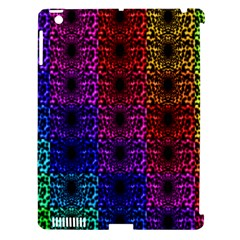 Rainbow Grid Form Abstract Apple Ipad 3/4 Hardshell Case (compatible With Smart Cover)