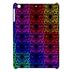 Rainbow Grid Form Abstract Apple Ipad Mini Hardshell Case
