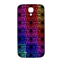 Rainbow Grid Form Abstract Samsung Galaxy S4 I9500/i9505  Hardshell Back Case
