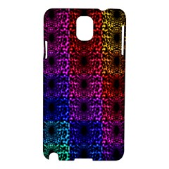 Rainbow Grid Form Abstract Samsung Galaxy Note 3 N9005 Hardshell Case