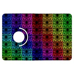 Rainbow Grid Form Abstract Kindle Fire Hdx Flip 360 Case