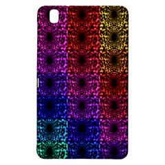 Rainbow Grid Form Abstract Samsung Galaxy Tab Pro 8.4 Hardshell Case