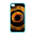 Fractal pattern Apple iPhone 4 Case (Color) Front