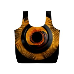 Fractal Pattern Full Print Recycle Bags (s)
