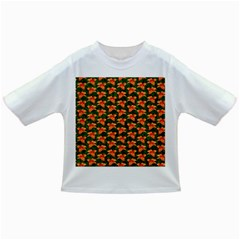 Background Wallpaper Flowers Green Infant/Toddler T-Shirts
