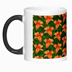 Background Wallpaper Flowers Green Morph Mugs