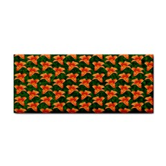 Background Wallpaper Flowers Green Cosmetic Storage Cases