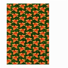 Background Wallpaper Flowers Green Small Garden Flag (Two Sides)