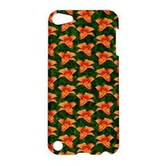 Background Wallpaper Flowers Green Apple iPod Touch 5 Hardshell Case