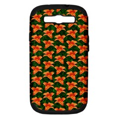 Background Wallpaper Flowers Green Samsung Galaxy S Iii Hardshell Case (pc+silicone)