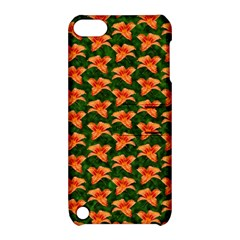 Background Wallpaper Flowers Green Apple Ipod Touch 5 Hardshell Case With Stand