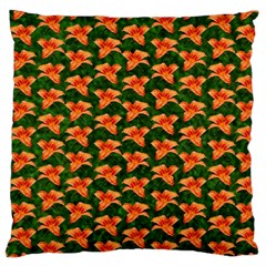 Background Wallpaper Flowers Green Standard Flano Cushion Case (one Side)