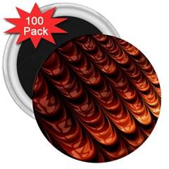 Fractal Mathematics Frax Hd 3  Magnets (100 pack)