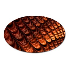 Fractal Mathematics Frax Hd Oval Magnet