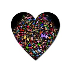 Network Integration Intertwined Heart Magnet