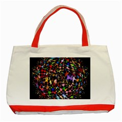 Network Integration Intertwined Classic Tote Bag (Red)